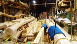 自然素材、熟練大工、墨付け手刻み木組み、吹き抜けのお家健康木造住宅9,24