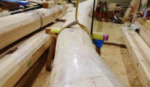 自然素材、赤松梁、木組み、熟練大工、墨付け、手刻み、吹き抜け木造住宅9、27