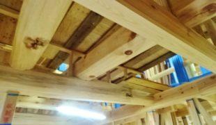 自然素材、赤松梁、熟練職人、創る健康木造住宅11,25