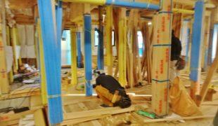 自然素材、熟練大工#墨付け#手刻み#木組み創る健康木造住宅11,26