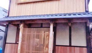 お知らせ、伝統工法で建てる 石場建て (枚方の家)