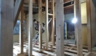 自然素材で古民家再生、熟練大工墨付け手刻み木組み創る健康木造住宅2,23