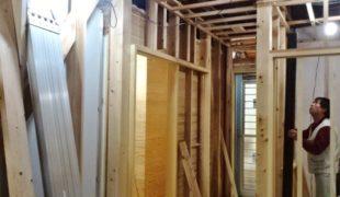 死産素材創る、古民家再生、竹小舞、発酵土壁、漆喰仕上げ、テレワーク対応住宅2,25