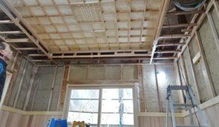 自然素材創る、古民家再生、作業伝統工法で創るテレワーク対応住宅3,10