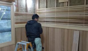 自然素材で創る古民家再生、熟練大工墨付け手刻み木組み創るテレワーク対応住宅3,11
