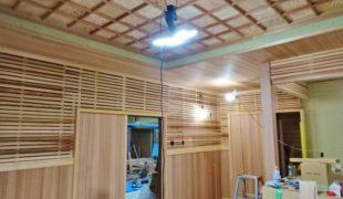 自然素材で創る古民家再生、手仕事創るテレワーク対応、コロナ対策住宅3,15