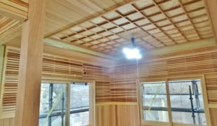 自然素材で創る古民家再生、癒しの木の香り、テレワーク対応住宅3,16